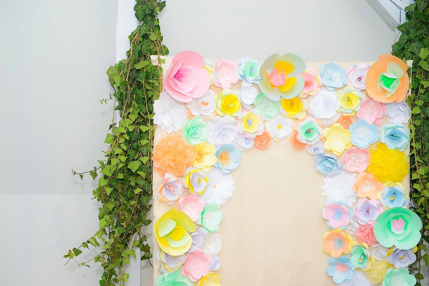 panou flori