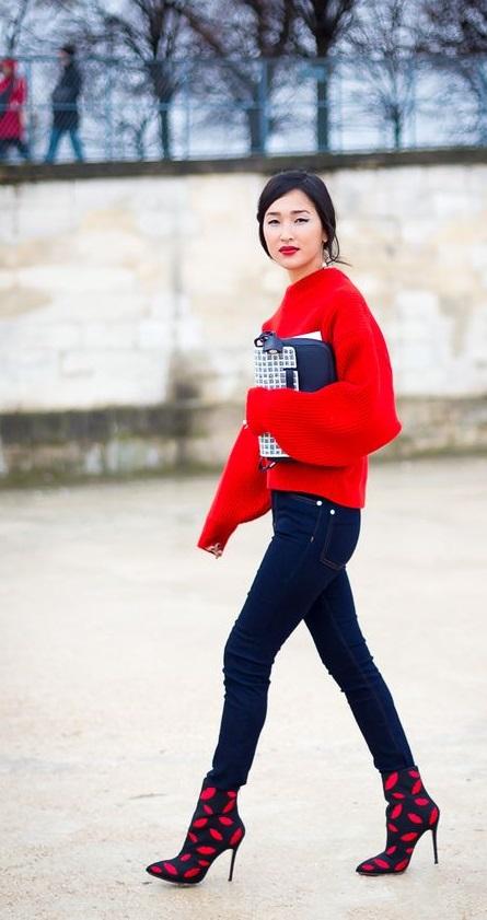 Gary Pepper pulover rosu