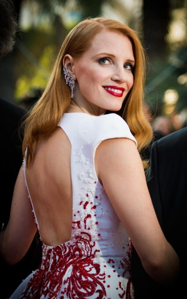 Jessica Chastain Piaget Cannes 2017