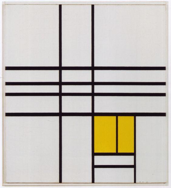 Mondrian 1936 yellow