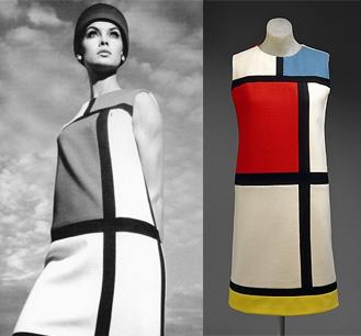Rochia Mondrian Yves Saint Laurent