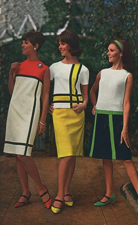 Spiegel 1965 Mondrian dress