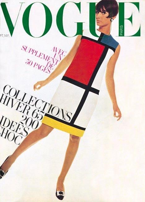 Rochia Mondrian Vogue 1965