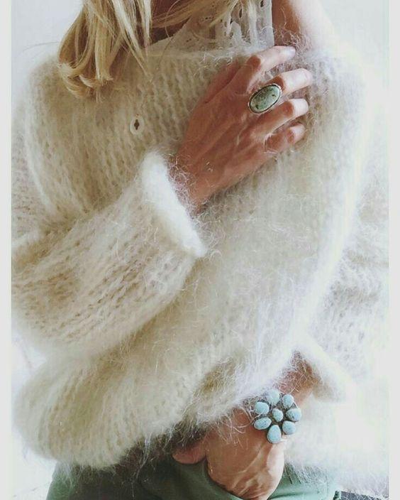 mohair pulover de calitate